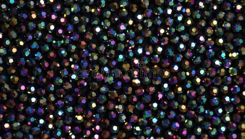 Beschaffenheit von Farbperlen lizenzfreie stockfotografie
