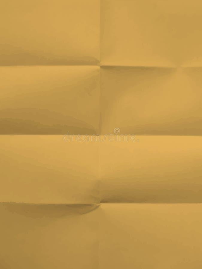 Beschaffenheit von gefaltet in Papier acht vektor abbildung