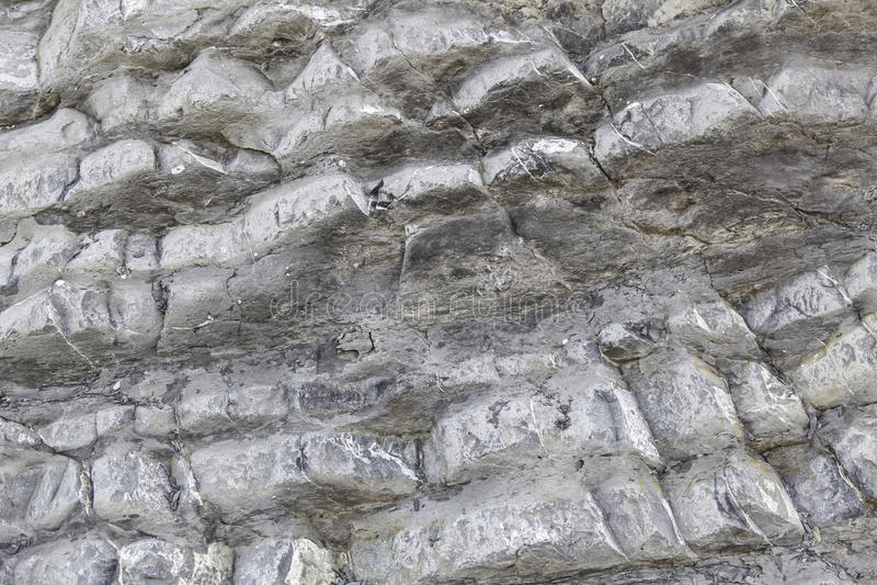 Beschaffenheit von grauen Felsen lizenzfreie stockfotos