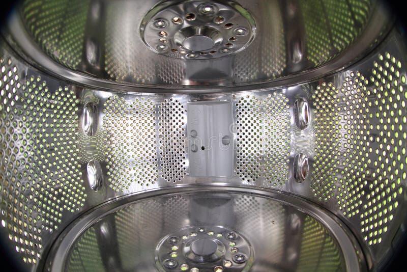 Beschaffenheit von Innen der Wäschemaschine lizenzfreie stockfotografie