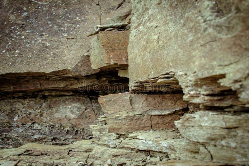 Beschaffenheit von Steinen und von Hintergrund Steine auf der Flussbank Dnie lizenzfreie stockbilder