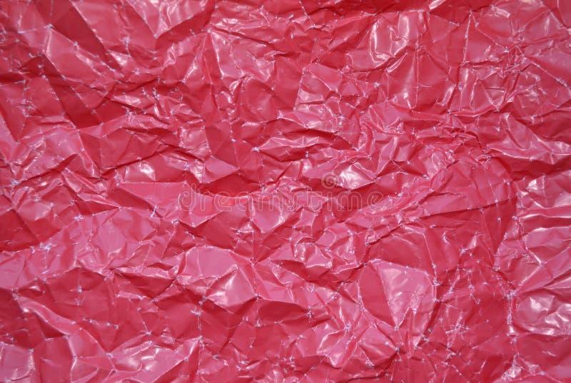 Beschaffenheit zerzauste rote Papierfarben lizenzfreies stockfoto