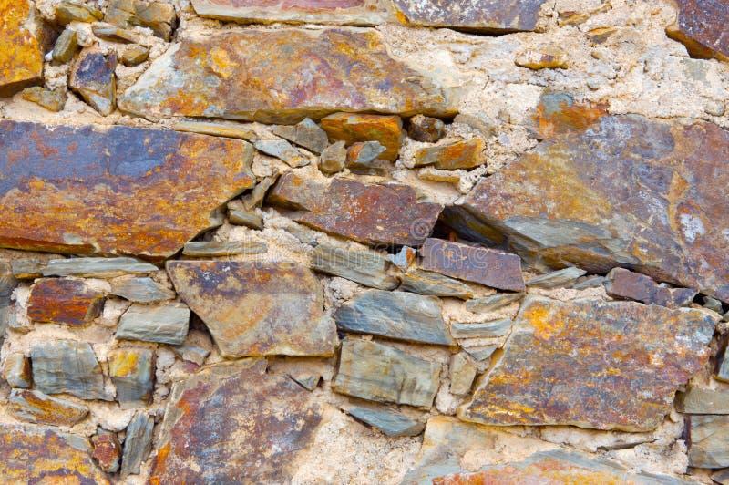 Beschaffenheiten der alten Steine lizenzfreie stockbilder