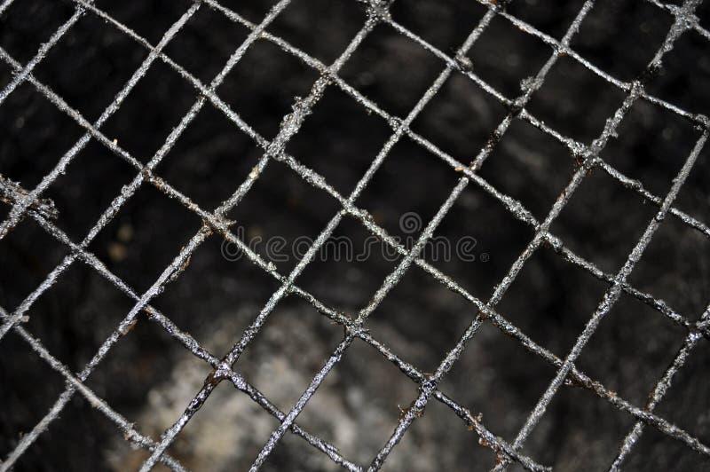 BESCHAFFENHEITS-DRAHT-LOCH stockbild. Bild von ineinandergreifen ...