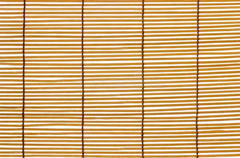 Beschaffenheits-Holz-Vorh?nge gen?htes Seil Identische Holzleisten stockbilder
