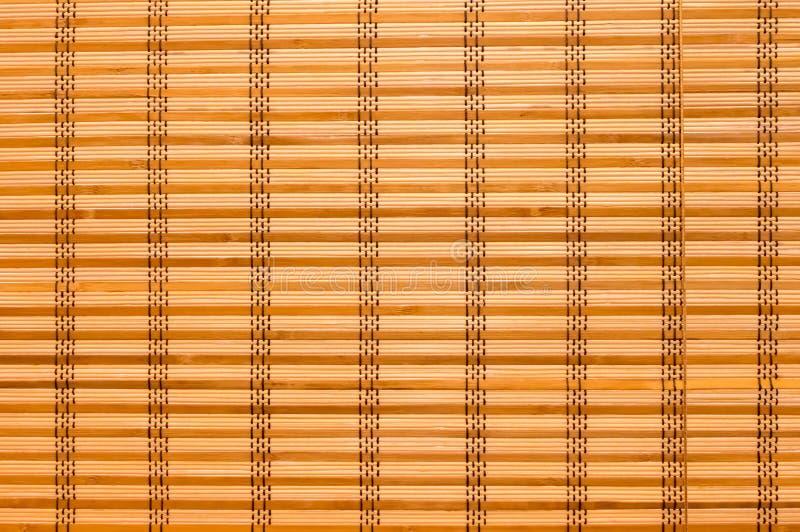 Beschaffenheits-Holz-Vorh?nge gen?htes Seil Verschiedene h?lzerne Streifen weit stockfotografie
