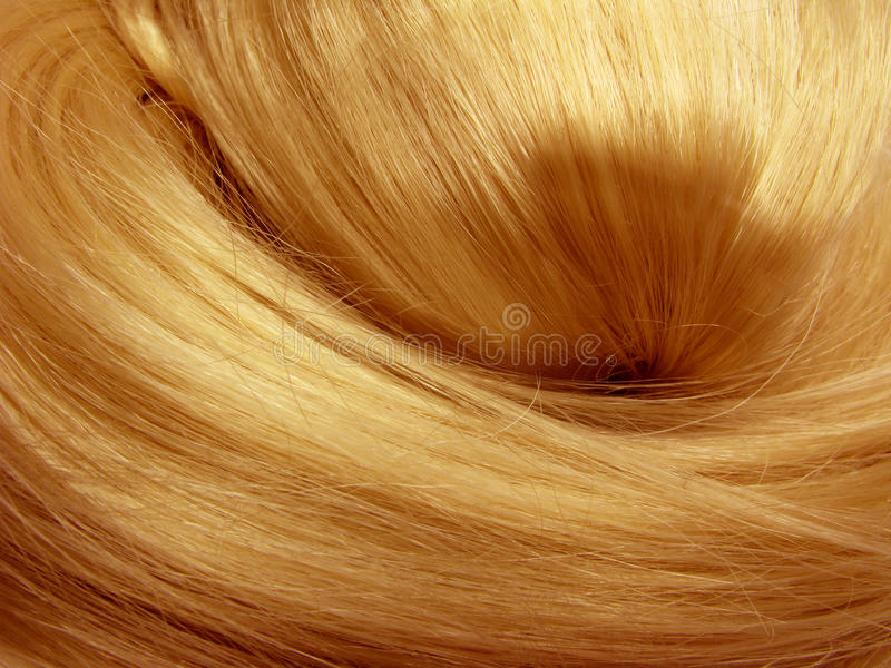 Beschaffenheitshintergrund des dunklen Haares lizenzfreies stockbild