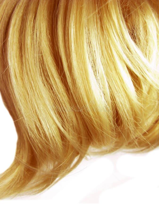 Beschaffenheitshintergrund des dunklen Haares stockbild