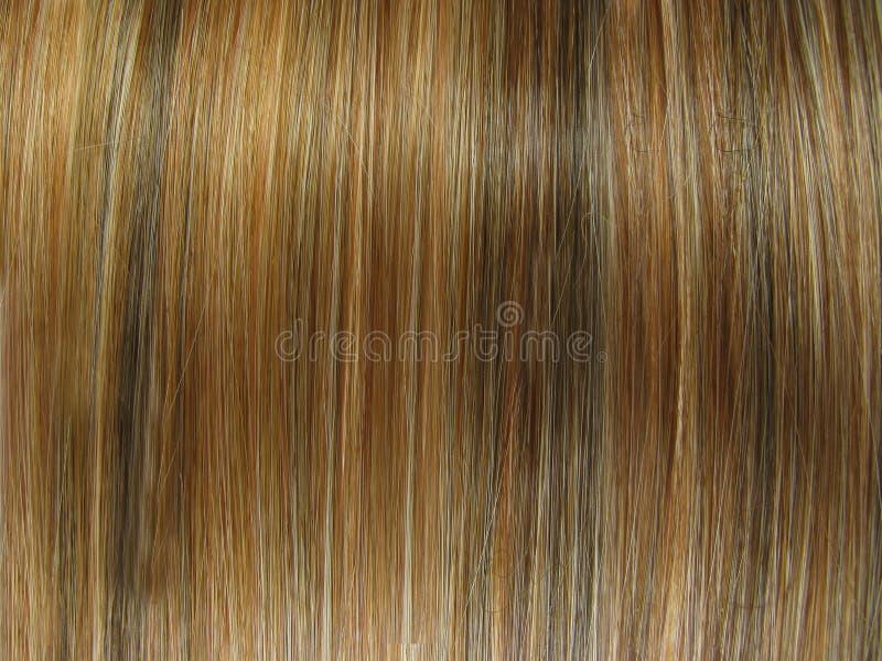 Beschaffenheitshintergrund des dunklen Haares lizenzfreie stockfotografie