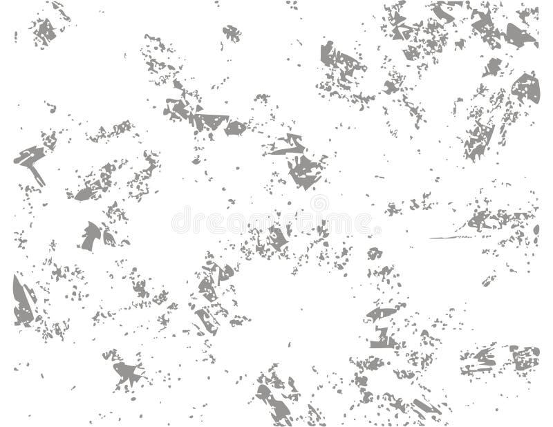 Beschaffenheitsschmutz Wenden Sie ein, um beunruhigten Effekt zu schaffen Auch im corel abgehobenen Betrag Schmutzscheine, beflec lizenzfreie abbildung