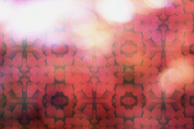 Beschaffenheitstapeten und -hintergründe bokeh unschärfe des roten Kastens Luxus stockfotografie