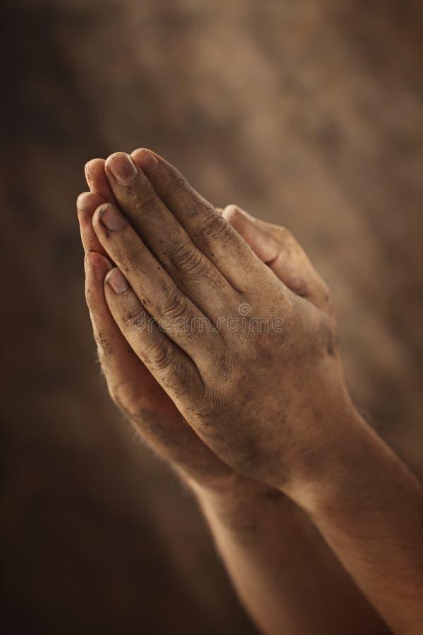 Bescheidenes Gebet lizenzfreie stockfotografie