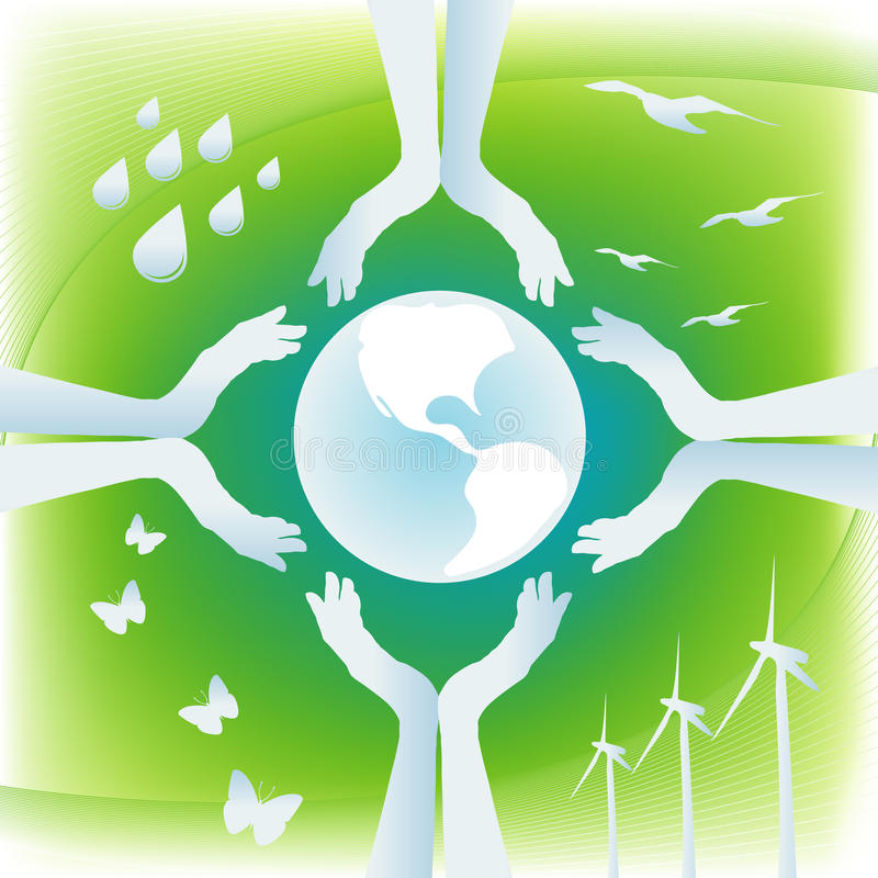 Bescherm Aarde stock foto's