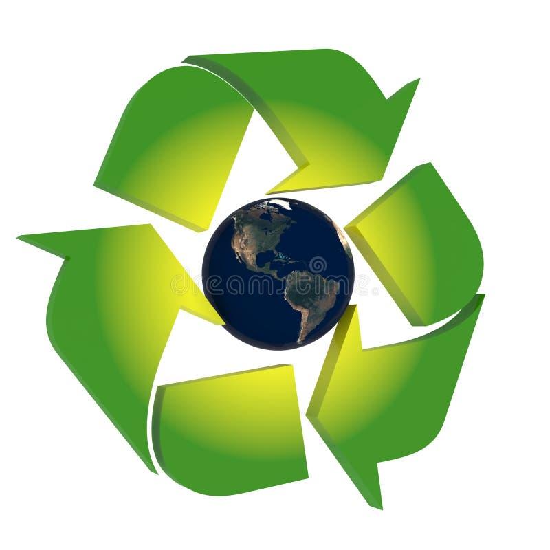 Bescherm de Aarde vector illustratie