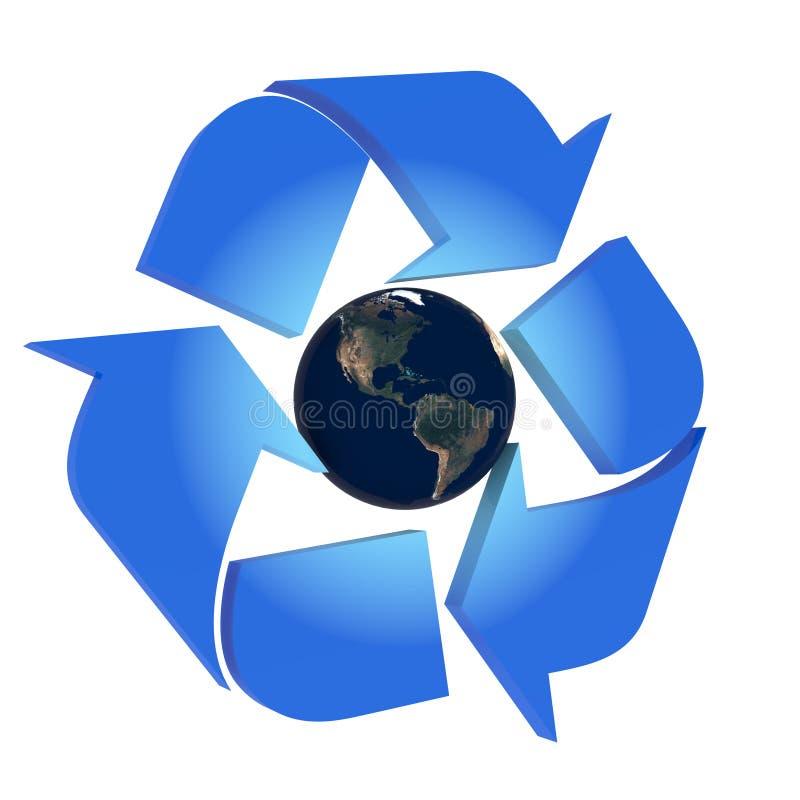 Bescherm de Aarde royalty-vrije illustratie