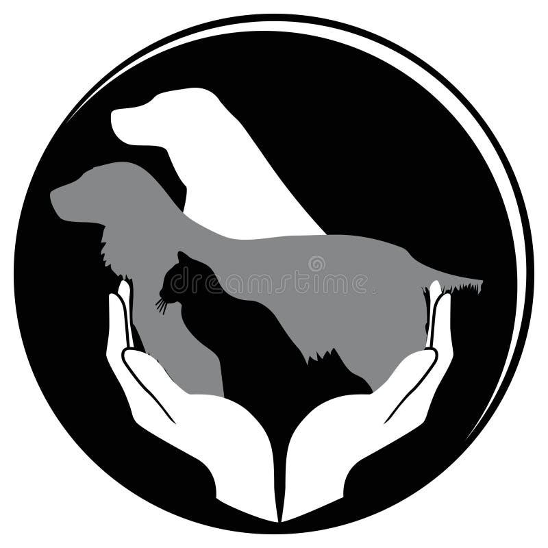 Bescherm dier royalty-vrije illustratie