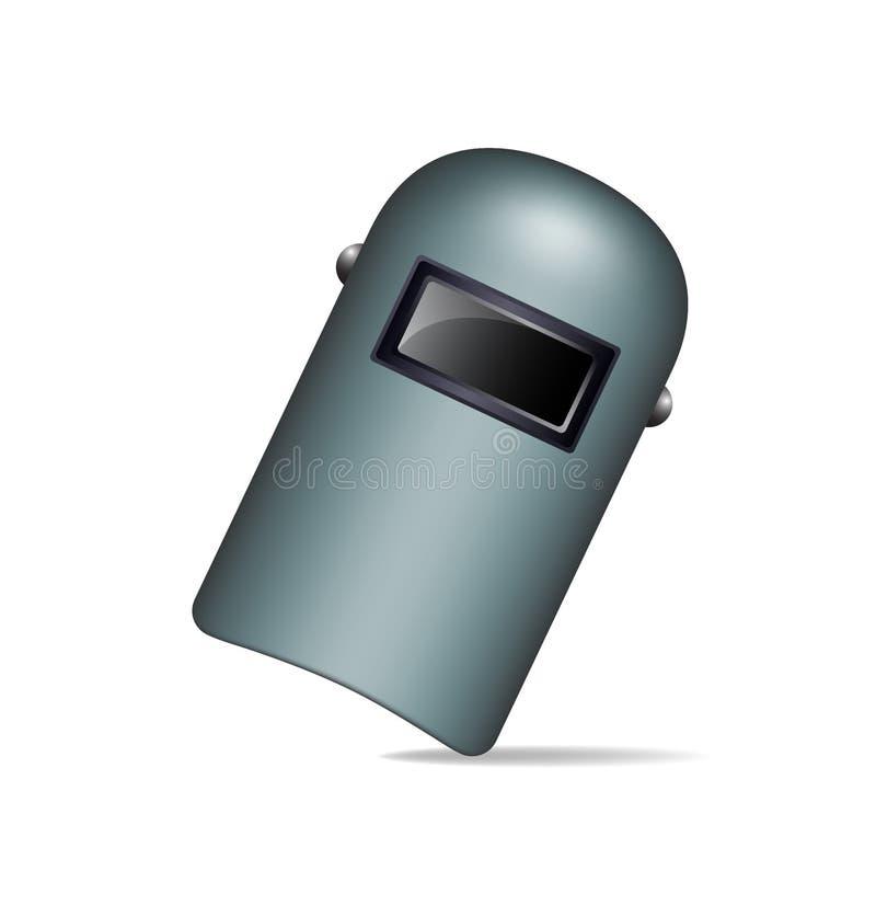 Beschermend lassenmasker royalty-vrije illustratie