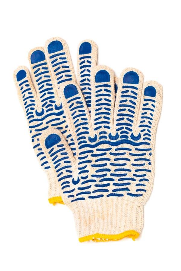 Beschermende handschoenen stock fotografie
