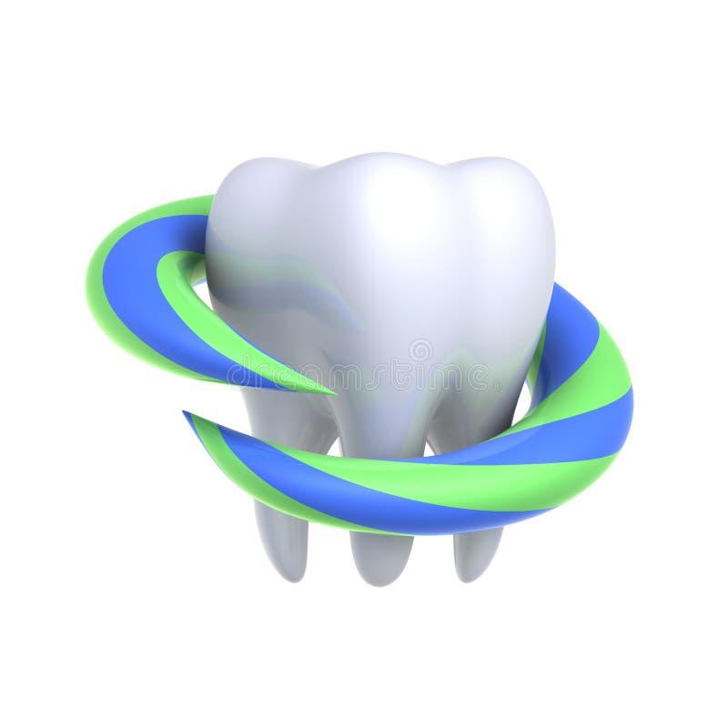 Bescherming en gezondheid van tanden royalty-vrije stock foto