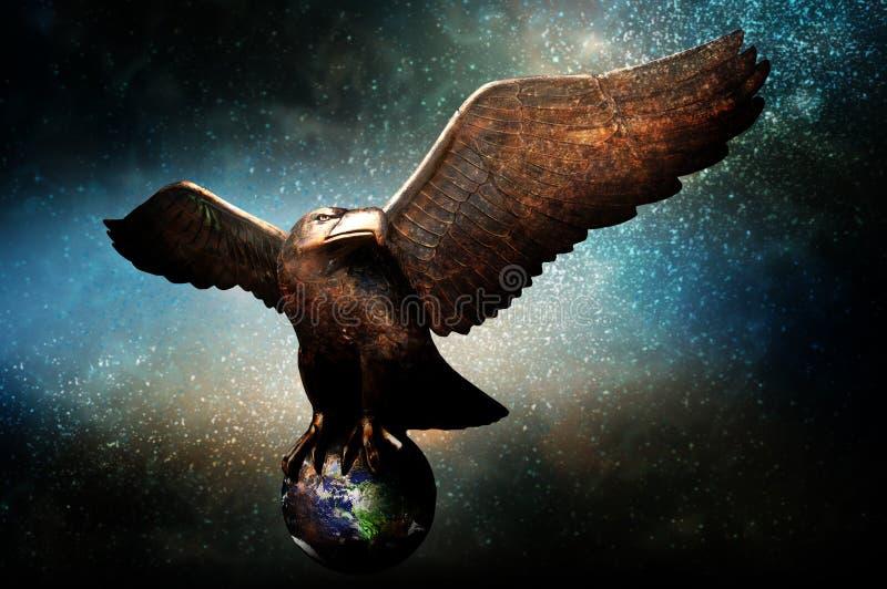 Bescherming van Aarde stock illustratie