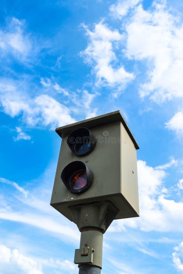 Beschleunigen Sie Kamera lizenzfreies stockfoto