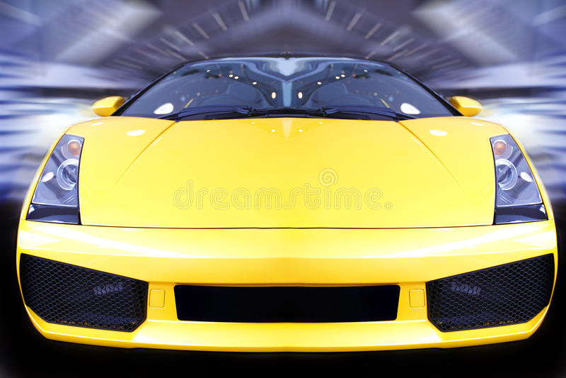 Beschleunigensportauto