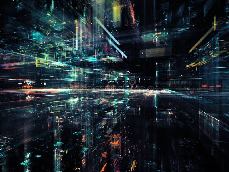 Beschleunigung der Technologie stockfoto
