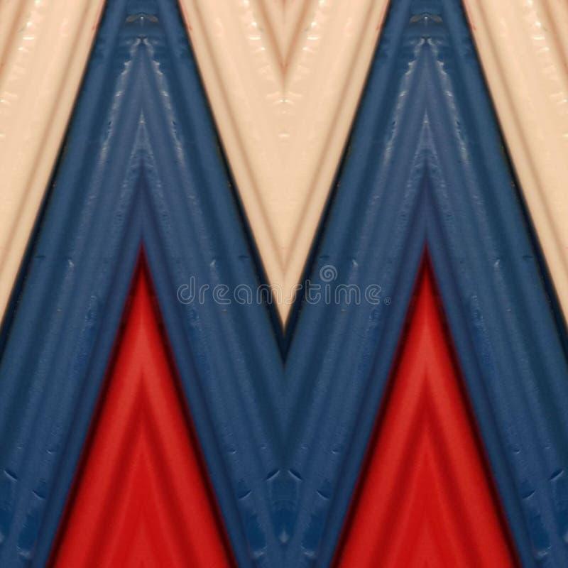 beschriften Sie m mit Stücken Plasticinestangen in den blauen, weißen und roten Farben, im Hintergrund und in der Beschaffenheit lizenzfreies stockfoto