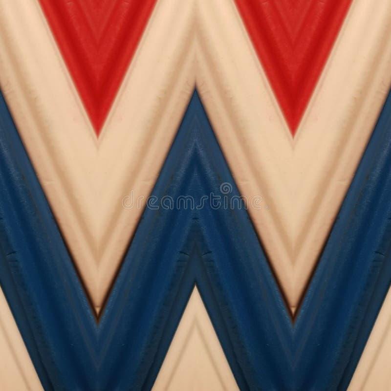 beschriften Sie w mit Stücken Plasticinestangen in den weißen, blauen und roten Farben, im Hintergrund und in der Beschaffenheit stockfoto