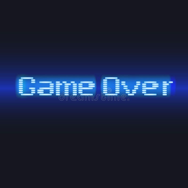 Beschriftung, Spiel vorbei