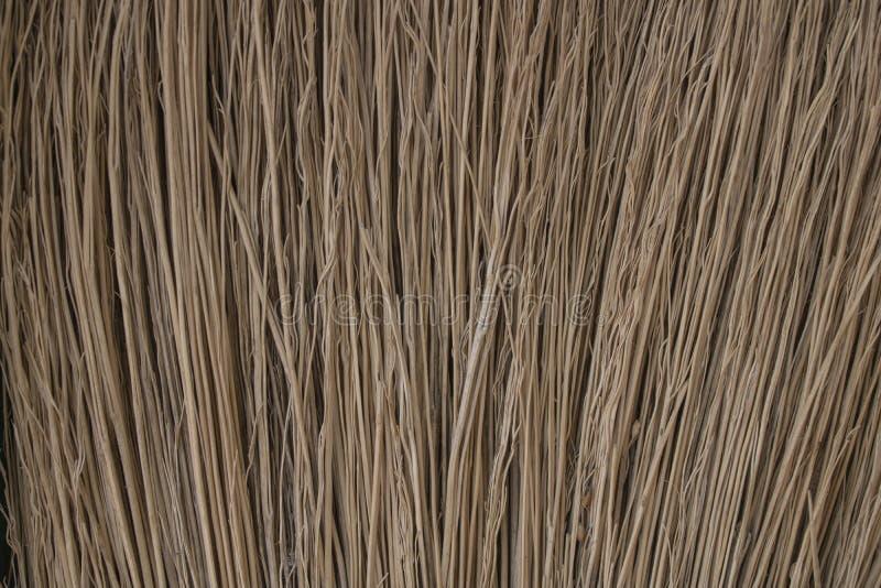 Besenbeschaffenheit Abstrakter Hintergrund der dunklen gelben Farbe Makrobesenniederlassungen lizenzfreie stockfotografie