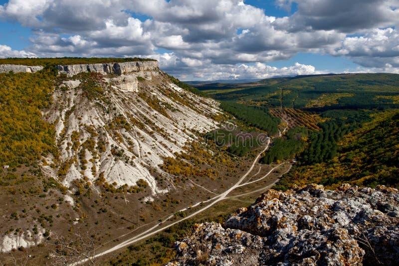 Besh-Koshberg nahe durch Bakhchisaray, Krim stockbilder