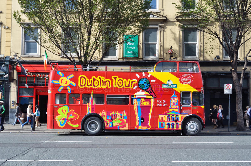 Besichtigendes Dublin lizenzfreie stockfotografie