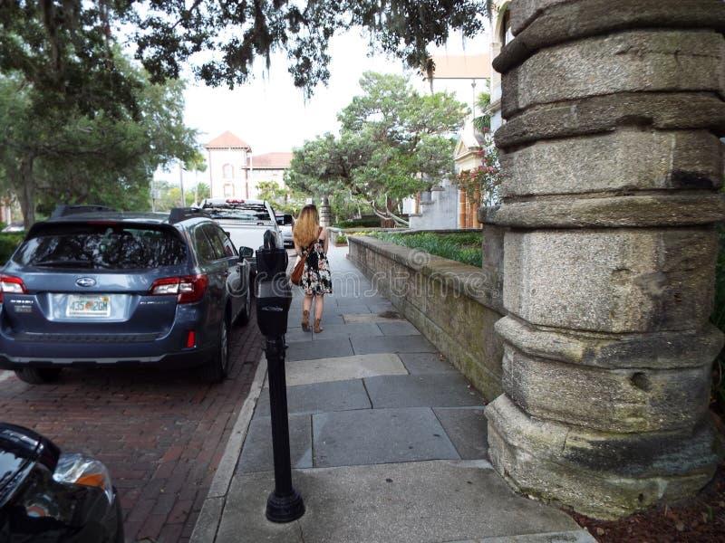 Besichtigungs-St. Augustine Florida lizenzfreies stockbild