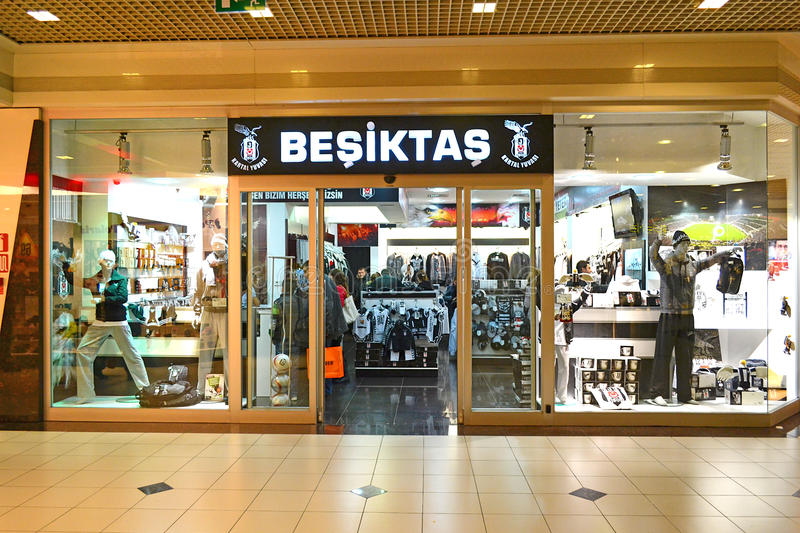Download Besiktas Store editorial stock photo. Image of inside - 22786268