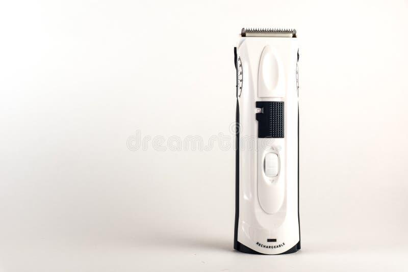 beskärare isolerad white för clipper hår hygienprodukter för män fotografering för bildbyråer