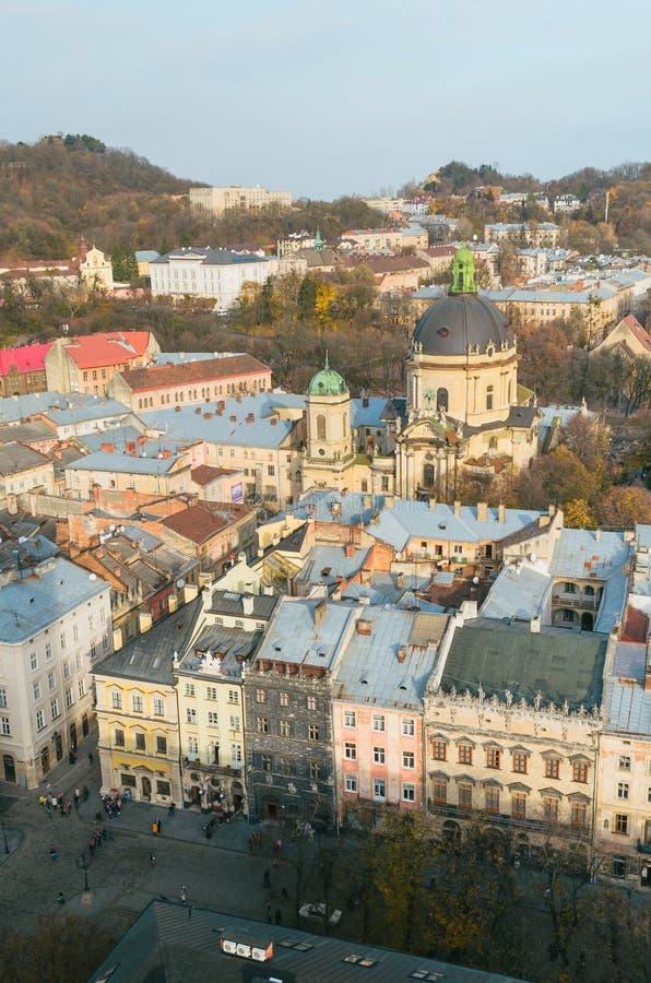 Beskåda av staden royaltyfri foto