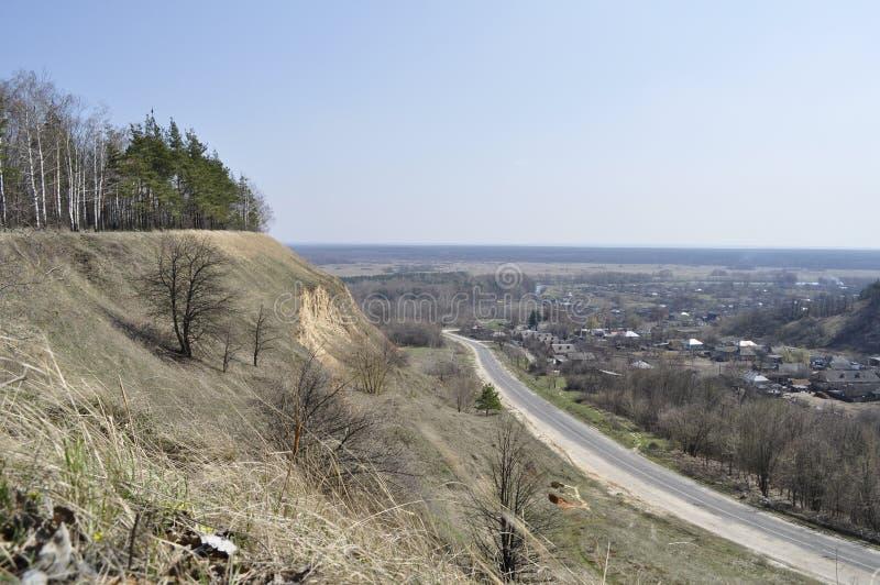 Beskåda från berg arkivfoto