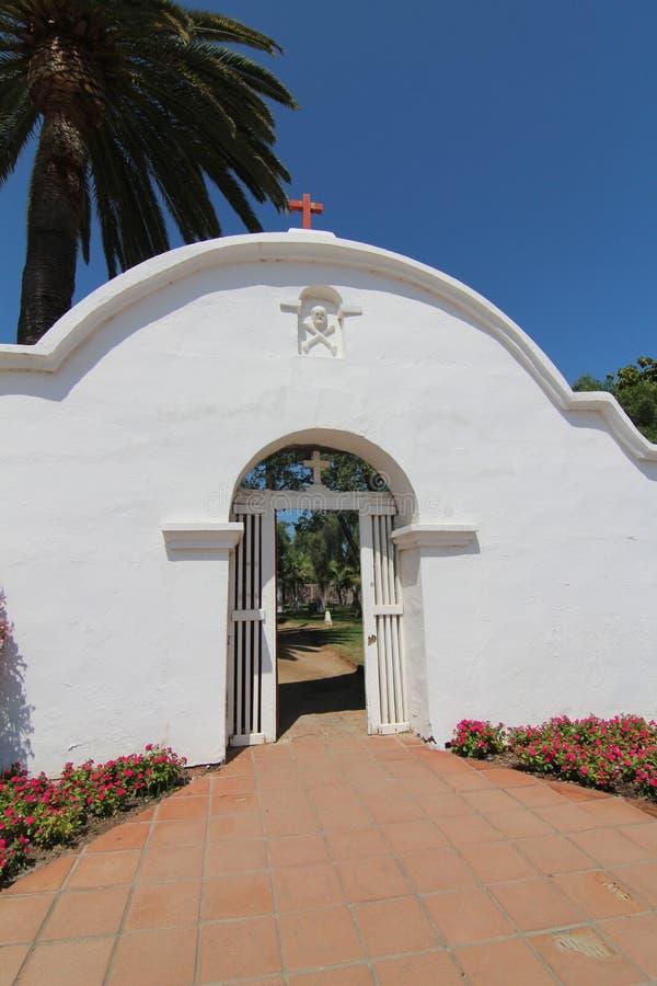 Beskickning San Luis Rey royaltyfria bilder