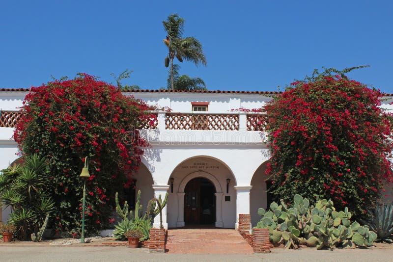 Beskickning San Luis Rey arkivbild