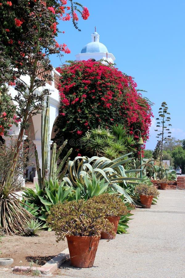 Beskickning San Luis Rey arkivbilder