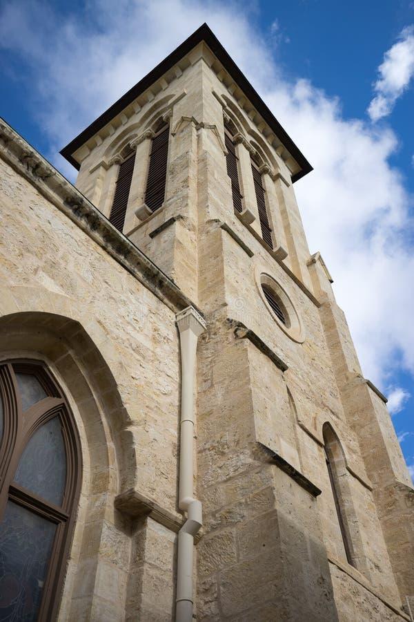 Beskickningbyggnadsdetaljer i San Antonio texas arkivbild