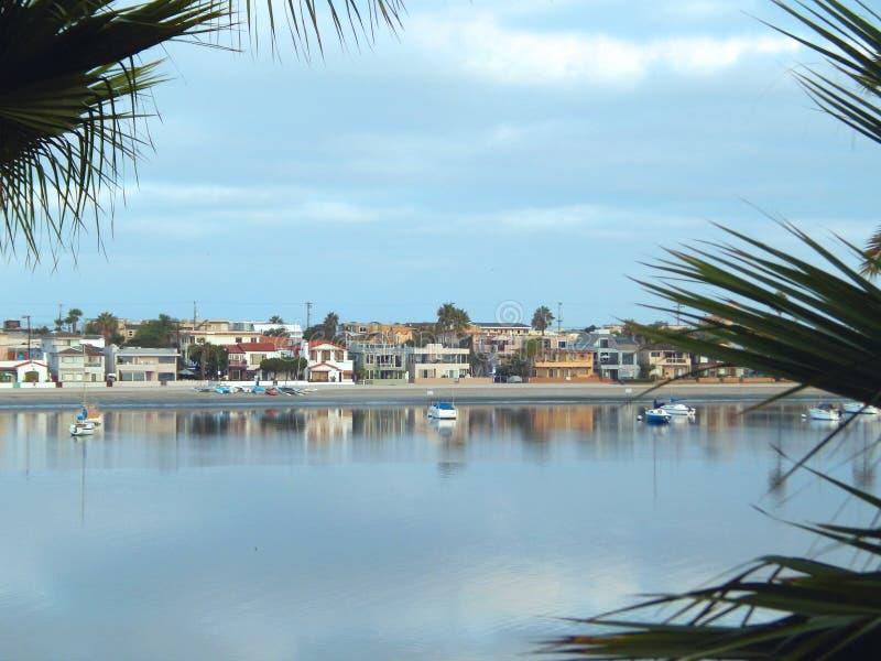 Beskickningfjärd San Diego royaltyfri foto