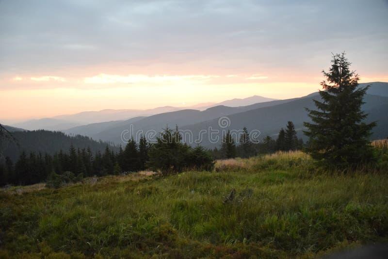 Beskid-Polnisch-Berge stockfotografie