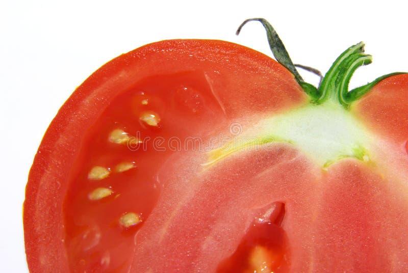 Besnoeiing-door tomaat royalty-vrije stock fotografie