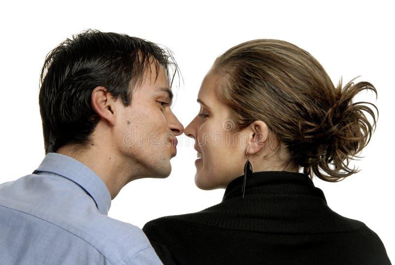 Beso foto de archivo libre de regalías