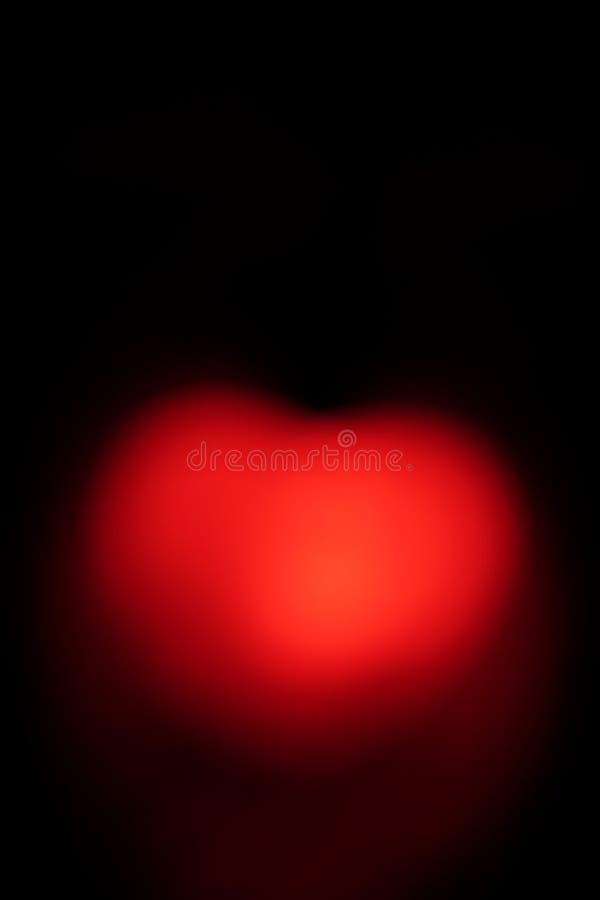 Besonders vorbereitetes Herz für Valentinstag lizenzfreie stockfotografie