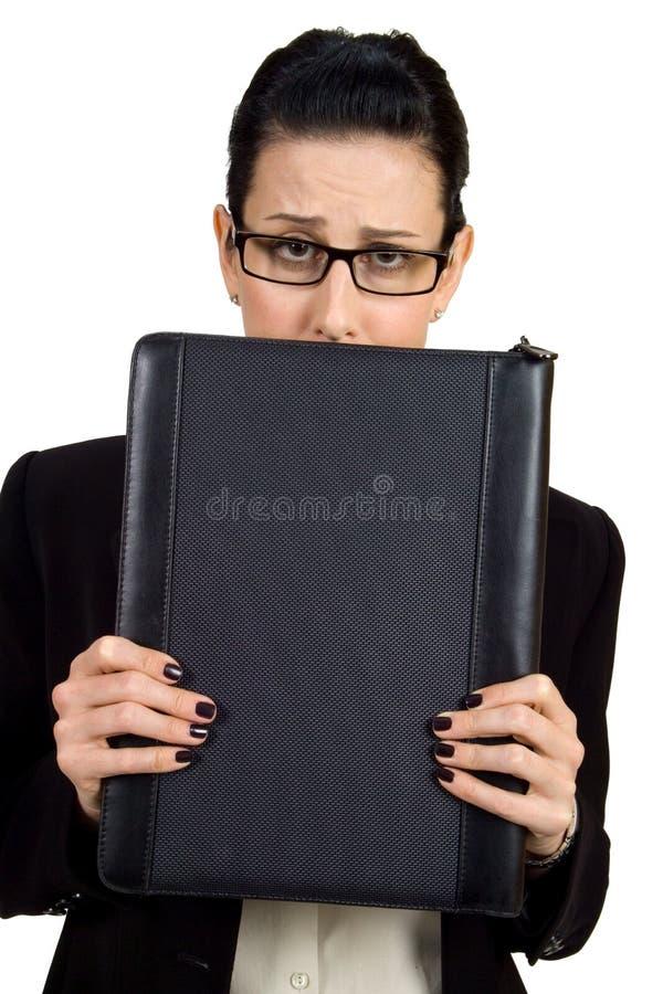 Besorgt stockfoto