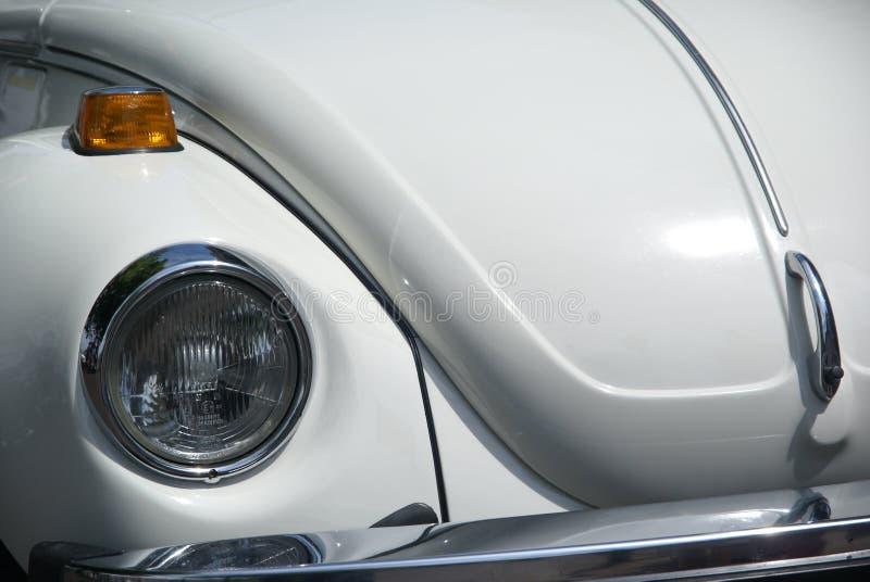 Besouro branco de Volkswagen   imagens de stock royalty free