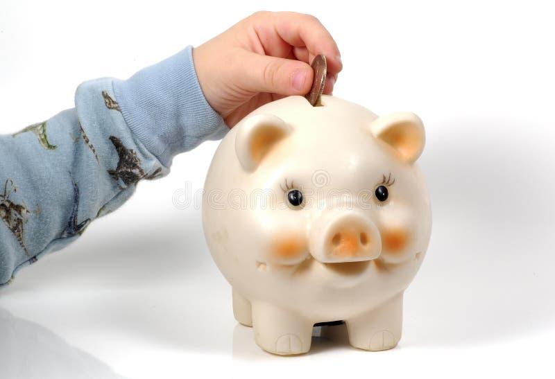 Besparing Stock Foto's